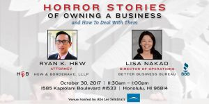 Horror Stories of Owning a Business and How to Deal with Them